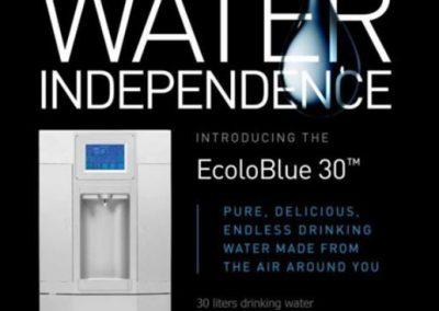 33 liter water makeer